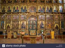 russia-golden-ring-uglich-iconostasis-of-the-transfiguration-cathedral-CR47PK