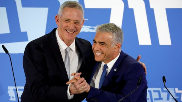 Benny Gantz and Yair Lapid
