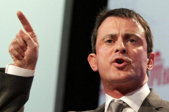 France's Interior Minister Manuel Valls Delivers Speech During the Socialist Party's annual congress in Toulouse