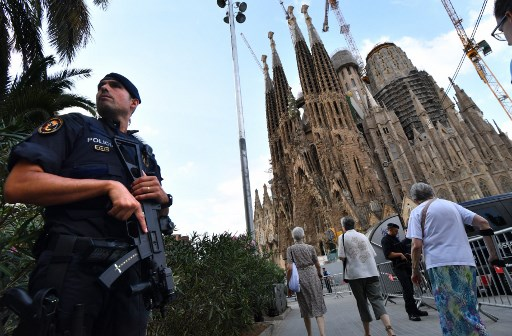 SPAIN-ATTACK-BARCELONA-MASS-SECURITY